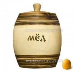 Бочонок для мёда 2 кг